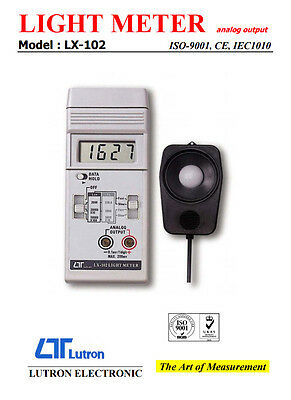 Lutron LX-102 Digital Light Meter Analog Output