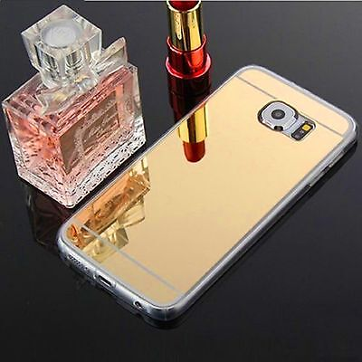 Luxury Ultra-thin TPU Gold Mirror Metal Case for Samsung Galaxy S6 {be716