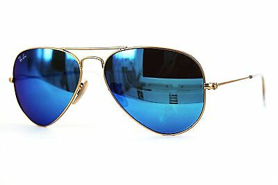 Ray Ban Sonnenbrille/Sunglasses AVIATOR LARGE METAL RB3025 112/17 62 +Etui