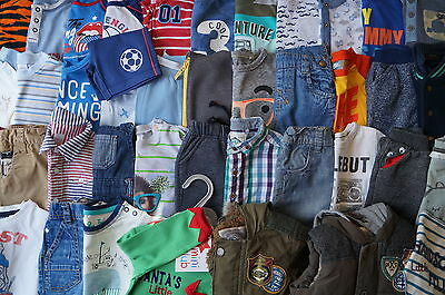 Bundle of boys clothes from 3-6 months old-FULL LIST & LOTS OF PICTURES INSIDE