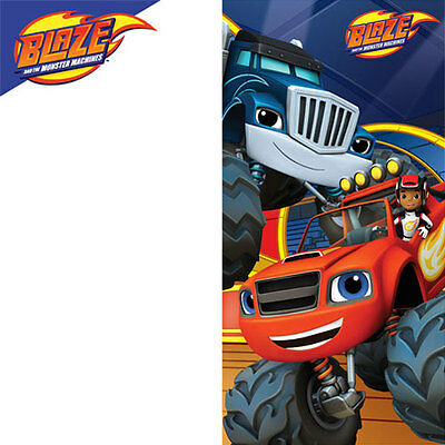 Childrens Boys and Girls Blaze and the Monster Machines Beach Bath Towel