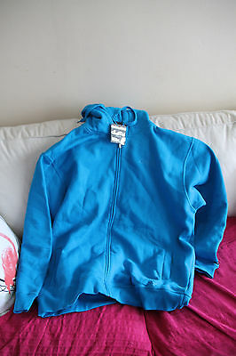 Sweat A Capuche Homme Bleu - Taille 3 Xl - Neuf -