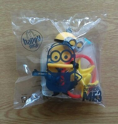 McDonalds happy meal toy 2017 Despicable Me 3 minion banana NEW
