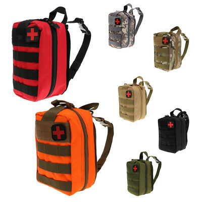 Tactical MOLLE Rip Away EMT EMS Medical First Aid IFAK Pouch Utility Bag