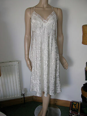 St Michael M&S vintage lingerie slip dress petticoat nighty under dress 16 M L