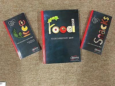 New Slimming World Food Directory, Free Branded Foods & Snack Book 2017 Editions