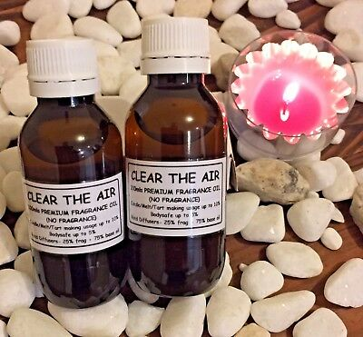 "🤭 Premium Fragrance Oil~""Clear The Air""~Candle/Melt/Tart/Soap Making+Diffusers"