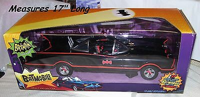 """Mattel 1966 Adam West Batmobile Sealed in Box Fits 6"""" Figures Adult Collectible"""