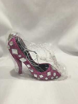 Katherine's Collection Large Shoe Ornament With Rhinestones