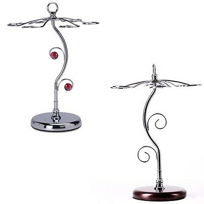 1 x Stainless Steel S Cup Wine Holder Goblets Stand Upside Down Wine Bottle Rack