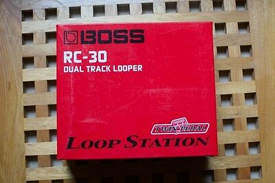 Boss RC-30 Loop station With Adaptor - Excellent Condition