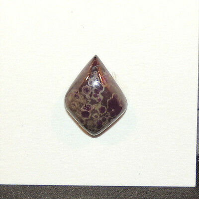 Sugilite Cabochon 17x13mm with 5.5mm dome (12507)
