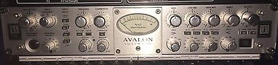 AVALON Vt737SP Tube Channel Strip Microphone Preamp / Compressor / EQ VT-737-SP