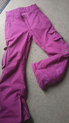 Roxy Quicksilver, Ski, Snowboarding trousers - Size S uk10 Quality & Condition