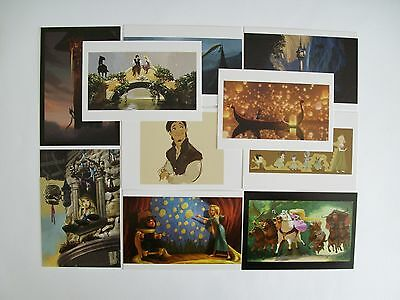 Collection of 10 Disney Tangled Postcards A496