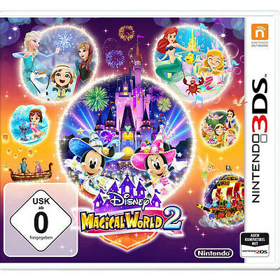 Disney Magical World 2 Nintendo 3DS *Neu & OVP*