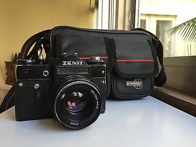 Zenit 11 35mm Film Camera With Helios Lens