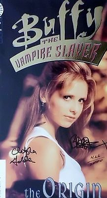 Buffy The Origan1. Gold Foil Edition Signed Dun Brereton Christopher Golden