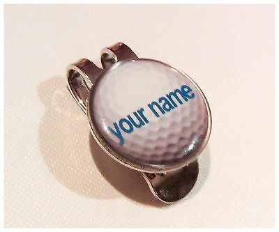 anneys-your OWN PERSONALISED golf ball marker +HAT clip********