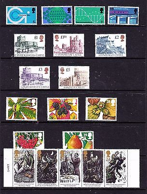 Great Britain stamps - 19 MUH