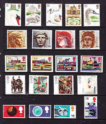 Great Britain stamps - 21 MUH