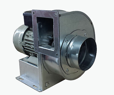 Centrifugal industrial extractor fan blower , blower 1400 RPM, 380 m3/h; 230 V