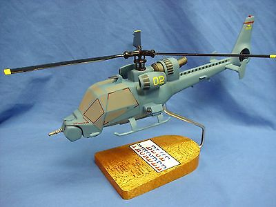 Blue Thunder helicopter, from the TV and movie of the same name,scale model