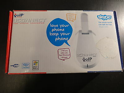 uConnect USB Skype/VOIP Adapter/Converter