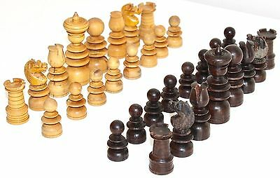 Vintage Wooden Chess Set | Classic Wooden Chess Set | Full 32 Piece Chess Set