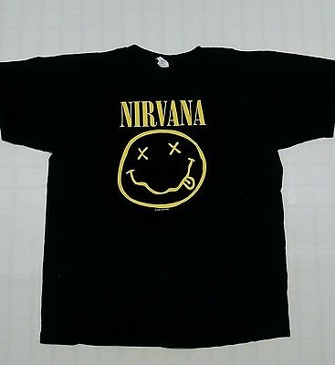 NIRVANA 1992 Black shirt