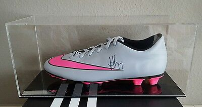 Alex Iwobi Signed Football Boot in Display Case Arsenal Premier League