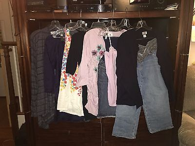 Maternity Clothes Lot--Large--tops and bottoms