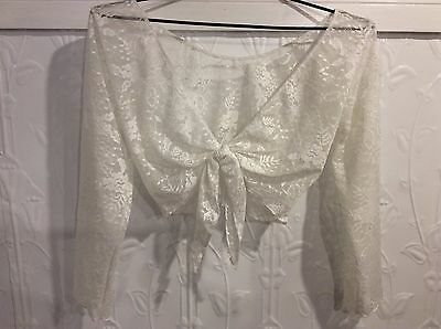 Wear Moi Lace Ballet Wrap - Worn once! Dancewear