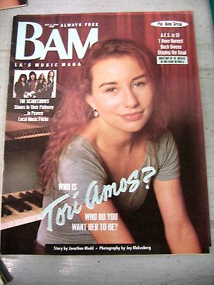 Tori Amos on the cover of BAM magazine Oct. 1992    L.A.  Area Version