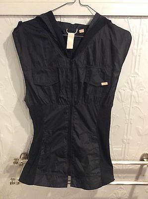 Bloch Sleeveless Hoodie NWOT Sz M Exercise or dancewear