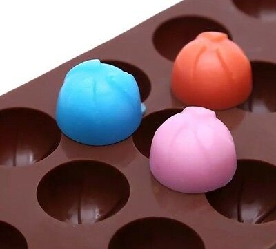 3D Balls 🏀 ice tray Cake chocolate Silicone Mould Mold DIY Tool