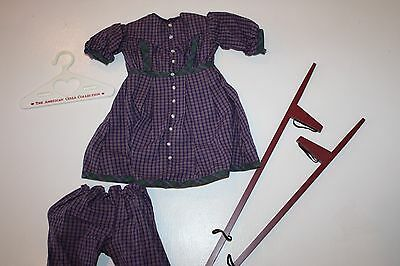 American Girl Pleasant Company Addy Stilting Outfit - Excellent Condition