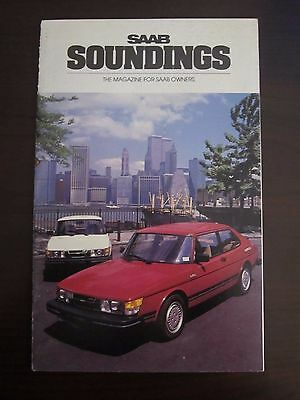 1984 Saab Soundings Magazine Twin Towers World Trade Center (M)