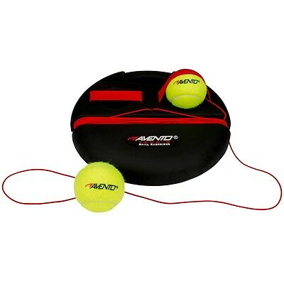 Avento Tennis Trainer Trainings-Set Tennis Ball Basis Schwarz/ Gelb 65TA-ZWG-Uni
