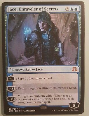Jace, Unraveler of Secrets MTG Magic the Gathering