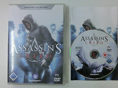 Assassins Creed - Directors Cut Edition für PC - CIB - Komplett !