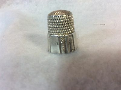 Sterling Silver Thimble #9 By Simmons In Great Condition