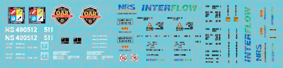N Scale - NS Operation Awareness (OAR) program Flat Car Decals