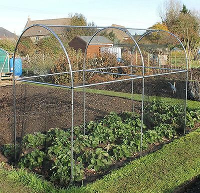 Tall Domed Fruit Vegetable Garden Cage Frame Aluminium - Various Sizes Available