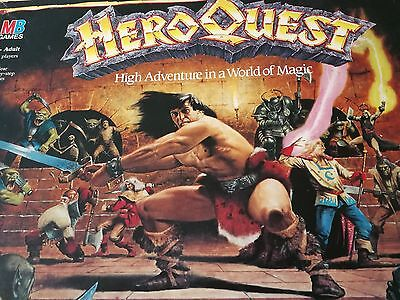 HERO Quest Board Game By MB Games