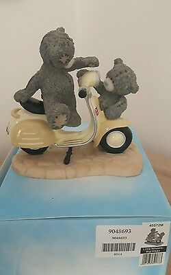 Me to You Little Wheels Big Ideas Figurine 2011. Boxed immaculate Condition.