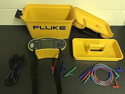 Fluke 1651 Multifunction Tester - C/w Test Leads, Carry Case & 12 Month Cal Cert