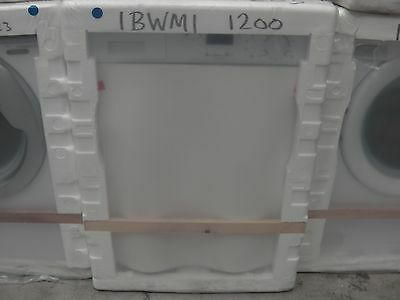 Baumatic IBWM1200 6kg 1200 Spin Built in Integrated Washing Machine