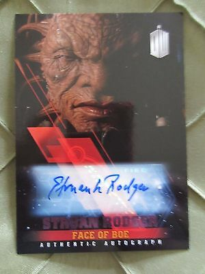 Doctor Who Timeless STRUAN RODGER as FACE OF BOE Autograph 08/25
