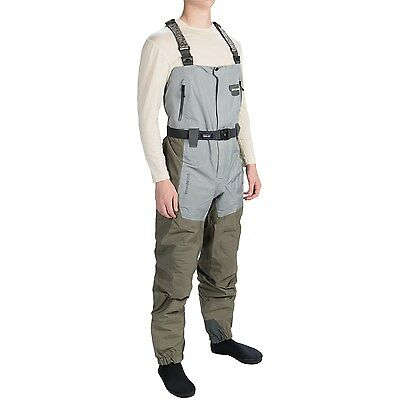 New Patagonia Rio Gallegos Zip Front Chest Waders - Stockingfoot - Men's - M
